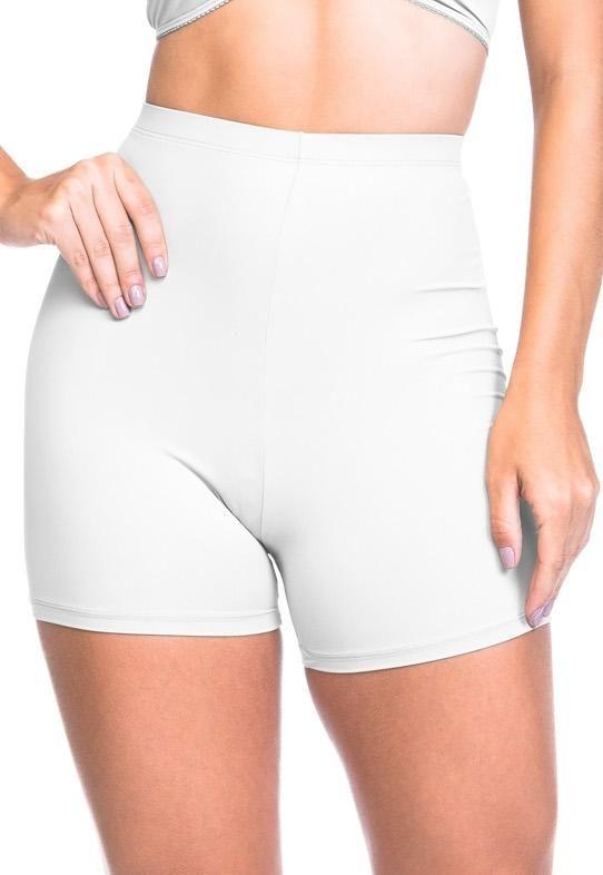 0ee614e32 Calcinha Short Poliamida Branco na Sempre Sensual Lingerie