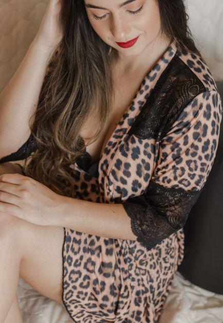 Robe de Liganete e Renda Camila Onça